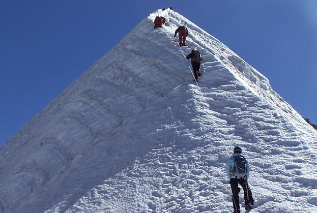 Mt.Island Peak Climbing with Everest Base Camp Trek (6160m).