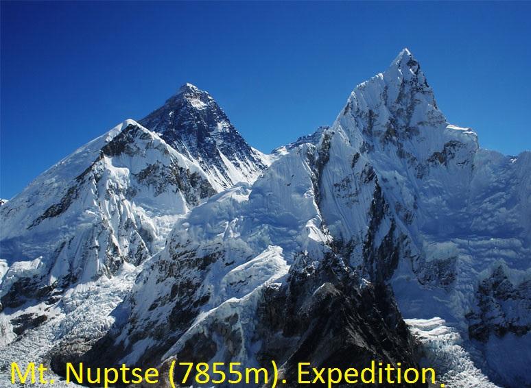 Mt. Nuptse (7855m) Expedition.