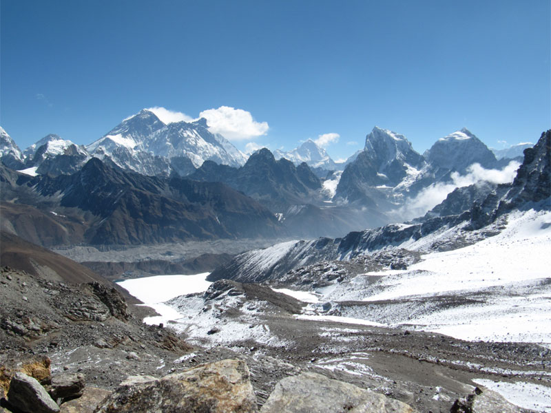 Renjo La Pass Gokyo Everest bass camp Trek.