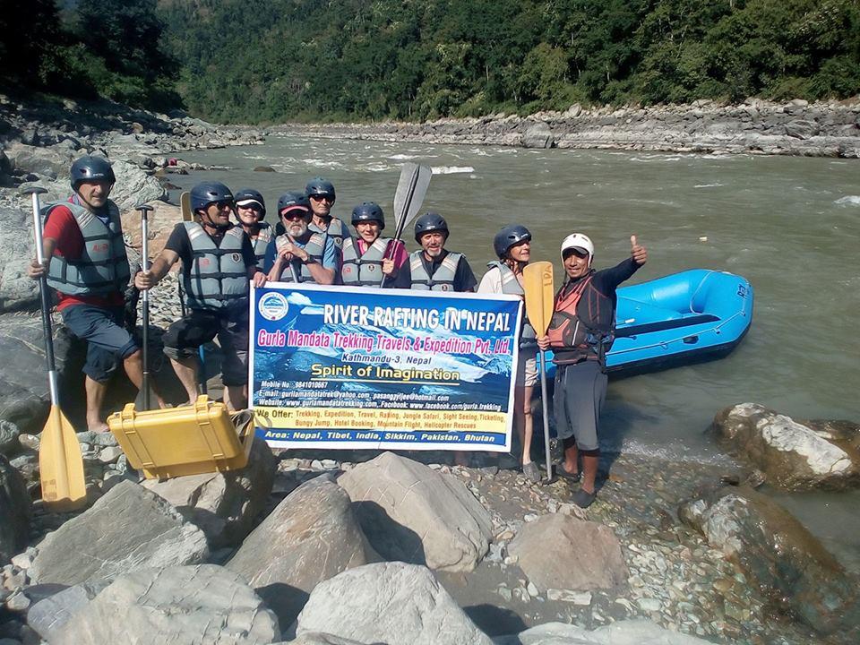 Trisuli River Rafting.
