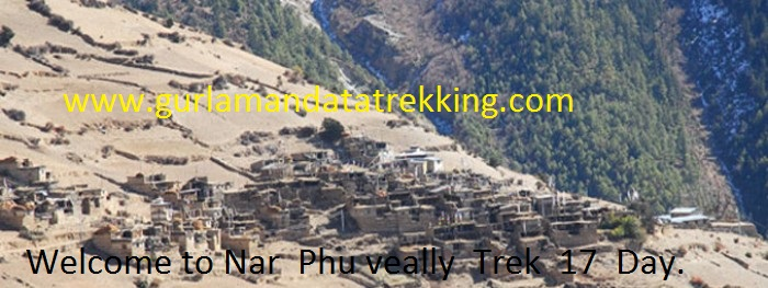 Nar  Phu Valley Trek  15 Days.