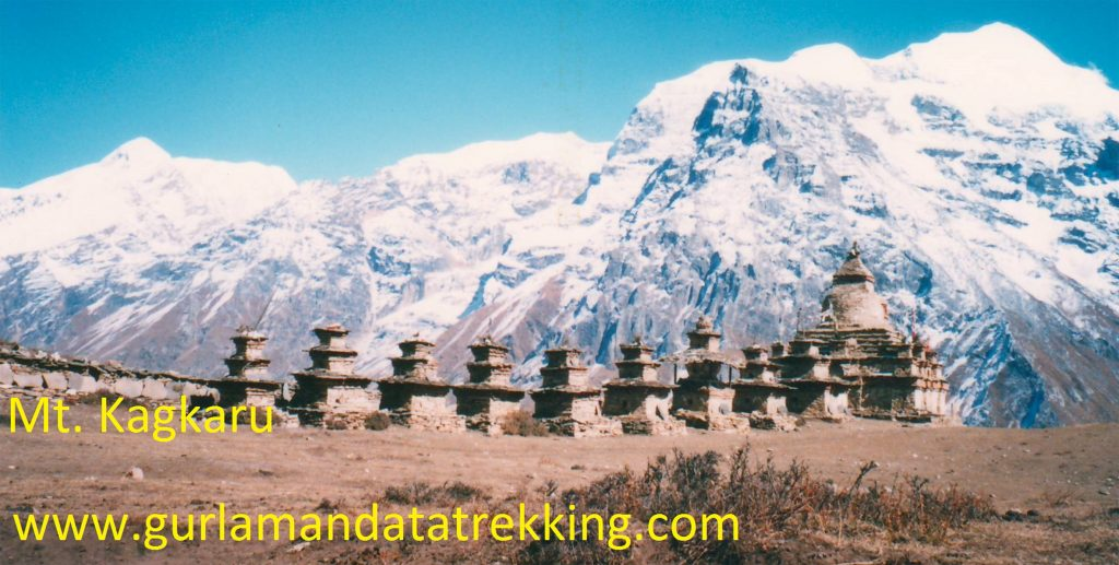 Mt.Kang Guru peak climbing (6981m)