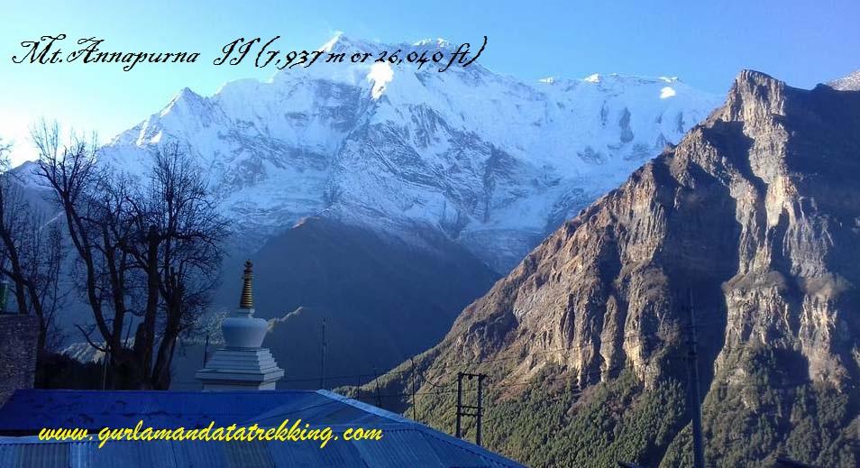 Mt.Annapurna II ( 7,937m)